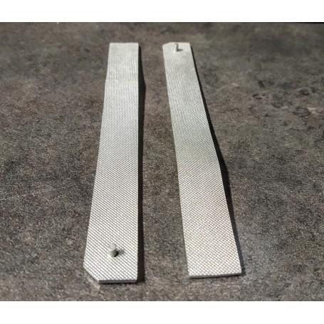 2 ramps d / g - long 122 mm - resin - ech 1:43