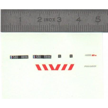 DecalComania - Peugeot 405 MI16 Gendarmerie - Ech. 1:43