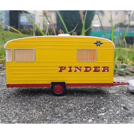 In the state - Caravan Digue of panoramic type Pinder - ech. 1:43