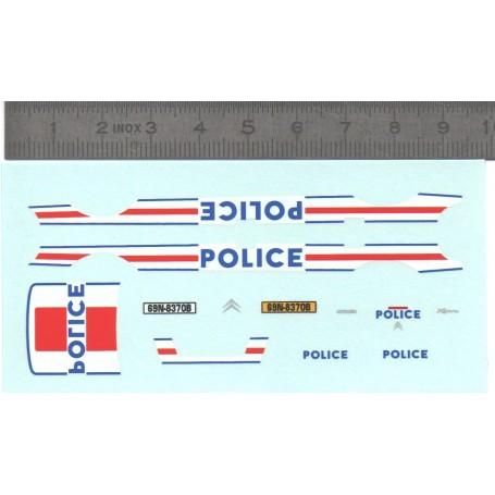 Decal - Citroën Xsara - Police - Ech. 1:43