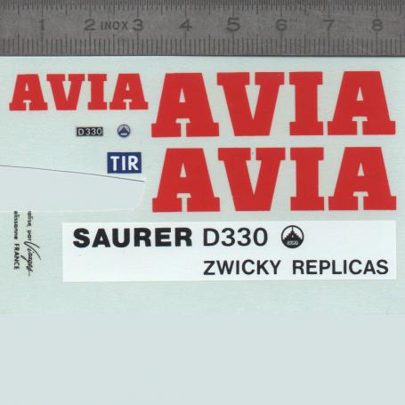 Decal - Avia Sautér - 1:43
