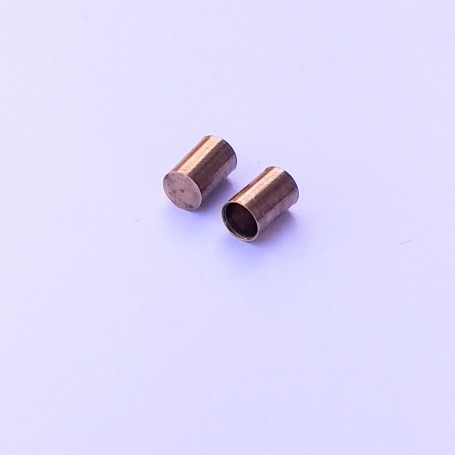 2 exhaust outputs - brass - Ø4 mm - CPC Production
