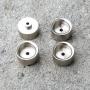 4 brass rims - Treaty Nickellage - Ø 10.40 mm - CPC Production
