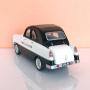 2 Rear Headlights - Citroën 2CV Charbonneau Dyane - White Metal - 1:43
