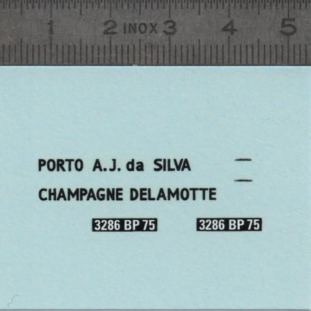 Decals: Citroën 2CV Charbonneau Dyane Friend - 1:43