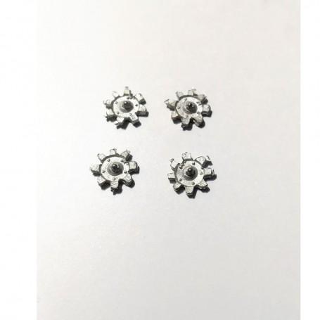 4 Insert Ø8 mm - White Metal - CPC Production